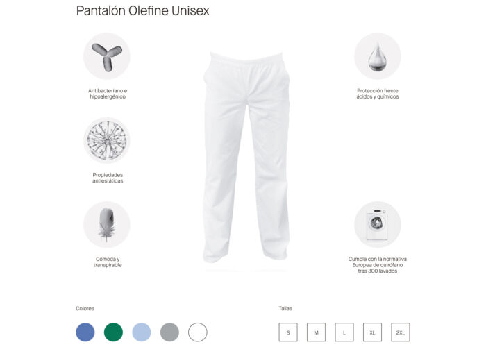PANTALON OLEFINE